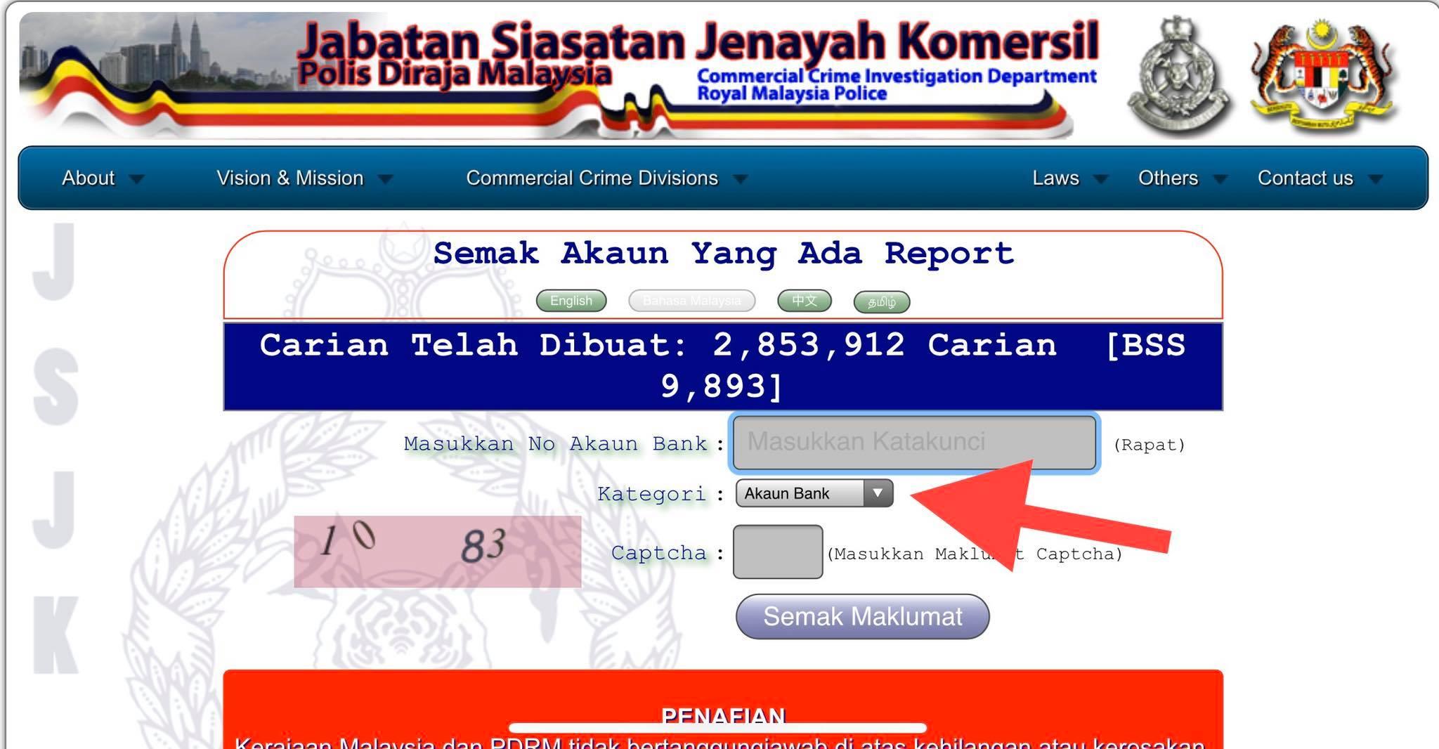 Cara Mudah Semak Scammer Online Melalui Bank Data Scammer Jsjk