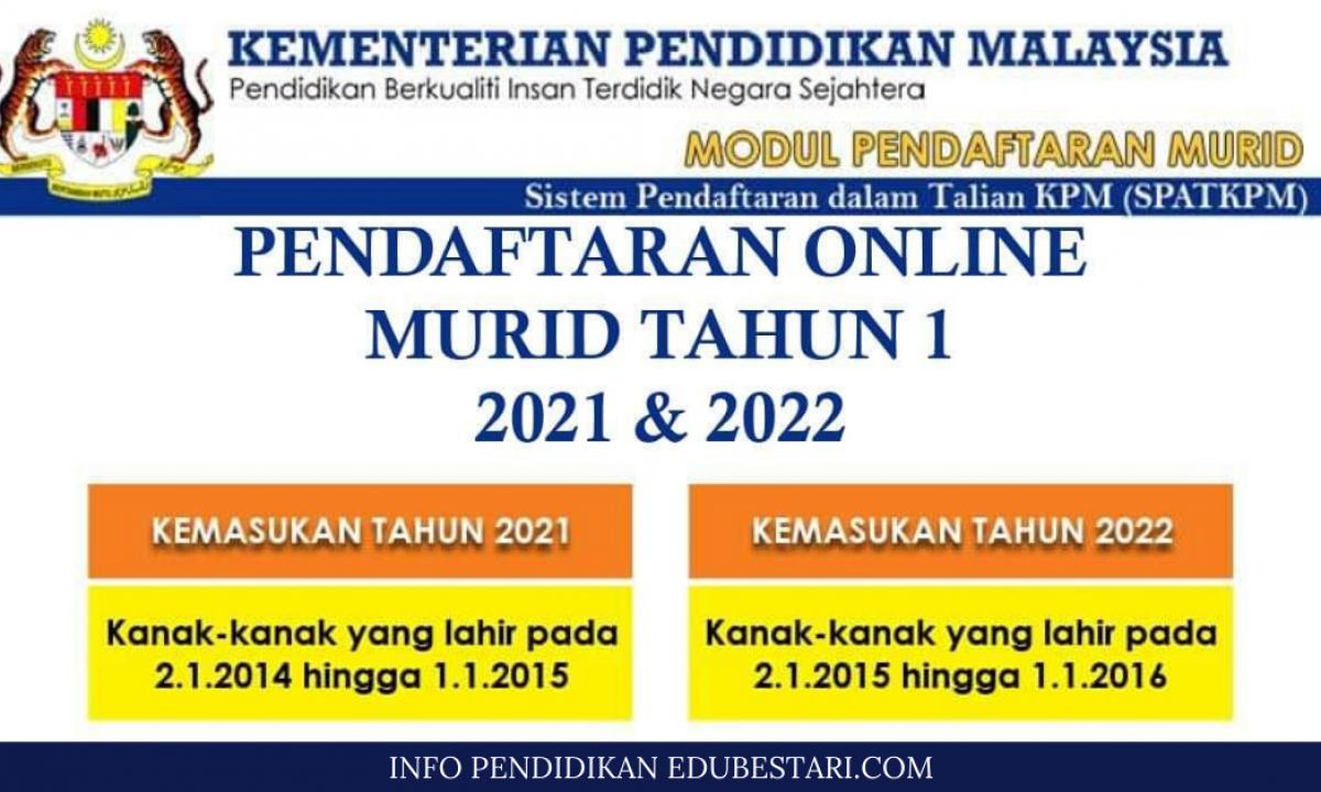 Daftar Online Tahun 1 2022