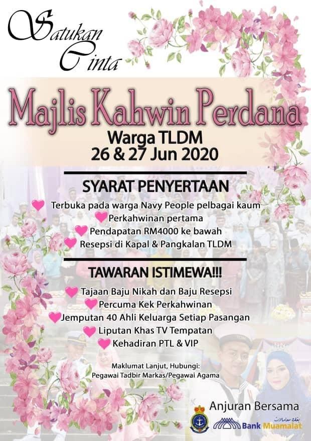 Majlis Kahwin Perdana Untuk Warga TLDM
