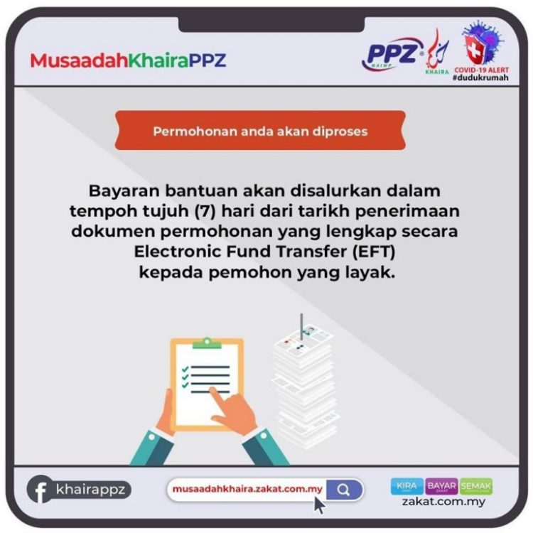 Bantuan Khas Musaadah Khaira Sebanyak RM300 Setiap Orang. Kini Dibuka Buat Semua Warganegara Malaysia Tanpa Mengira Latar Belakang