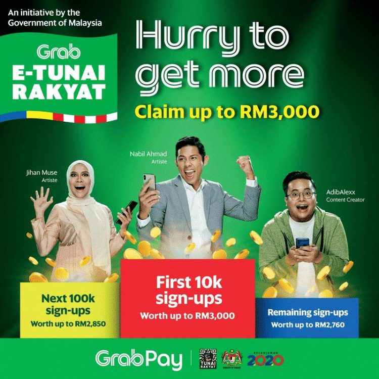 Cara Daftar eWallet RM50 dan Tebus Dana eTunai ePenjana - Edu Bestari