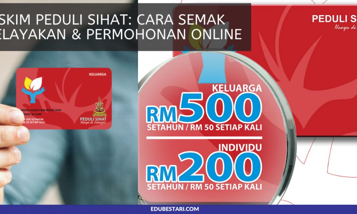 Permohonan Kad Peduli Sihat Selangor Online Permohonan My