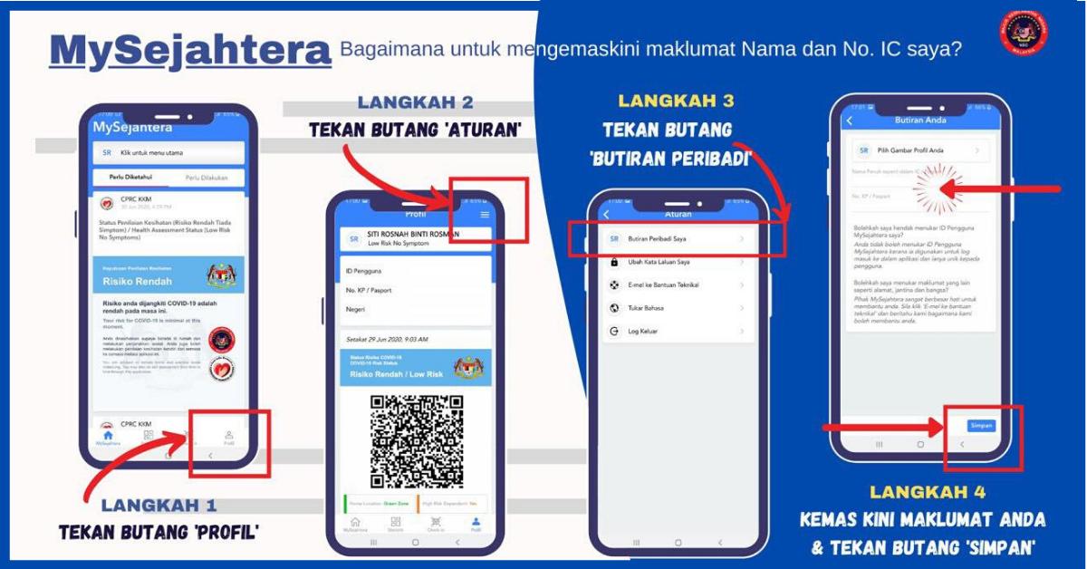 Download Apps Mysejahtera Untuk Claim Rm50 Ewallet Penjana Anda