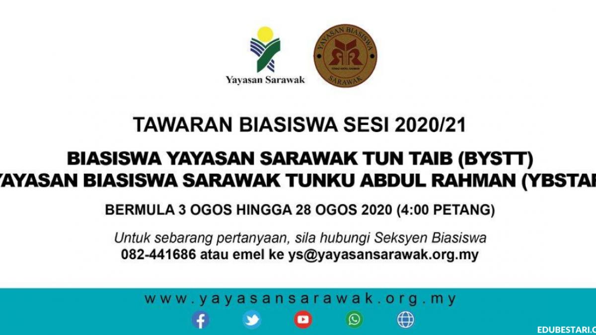 Permohonan Biasiswa Yayasan Sarawak Peringkat Ijazah Dalam Dan Luar Negara Edu Bestari