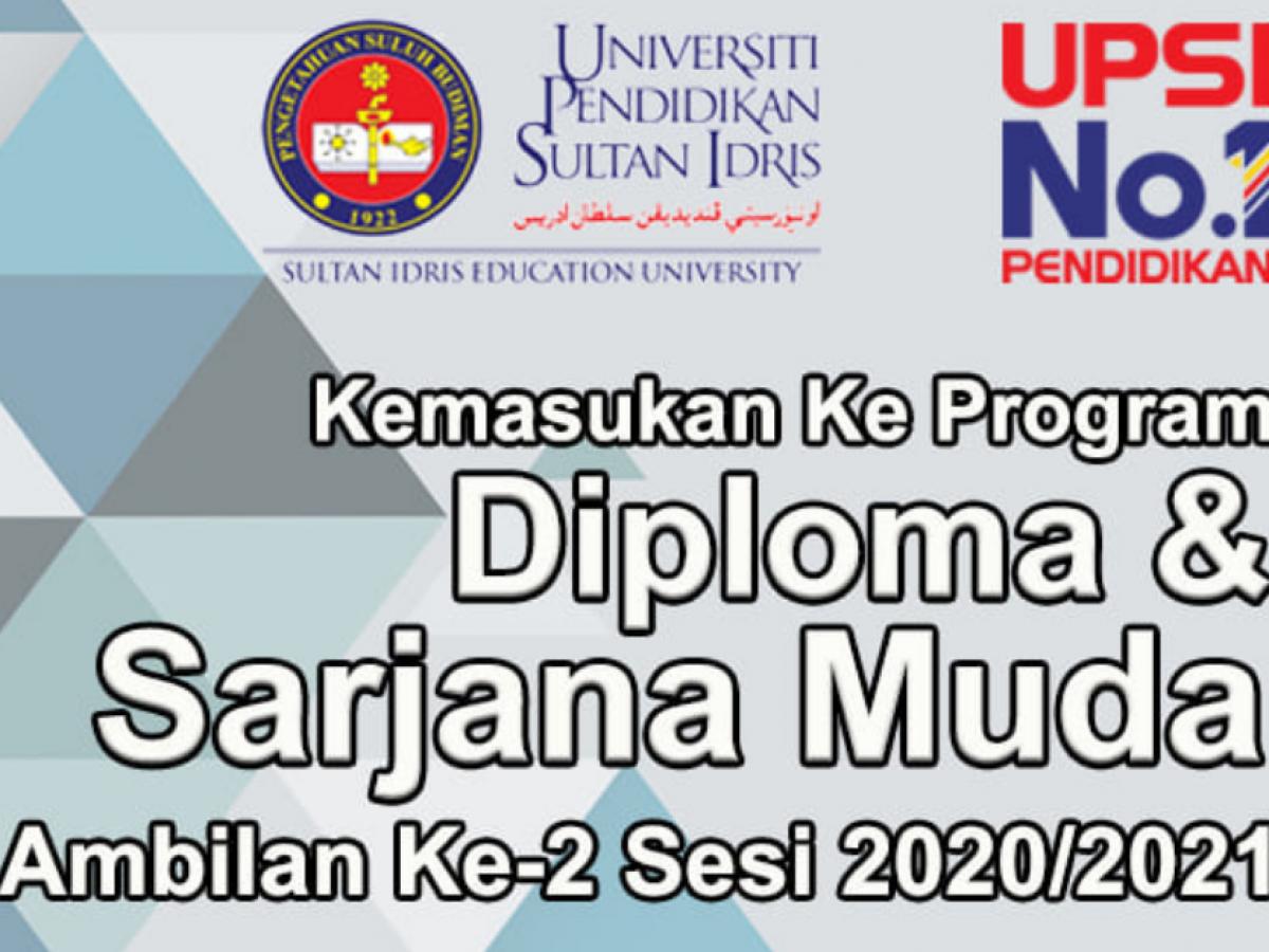 Permohonan Kemasukan Ke Program Diploma Ijazah Sarjana Muda Upsi Ambilan Ke 2 Edu Bestari